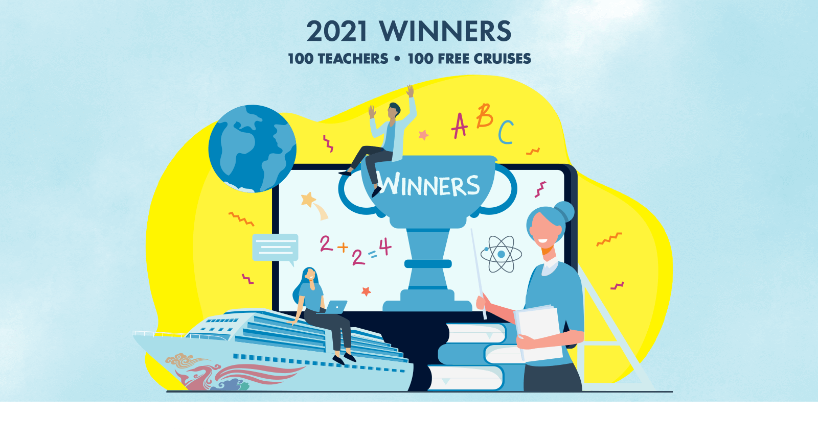 Norwegian Cruise Line Announces 'Giving Joy' Winners And Awards $60,000 To Schools Across The U.S. (August 2021)
